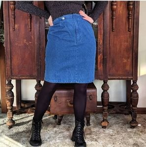 Vintage Forenza Denim Skirt